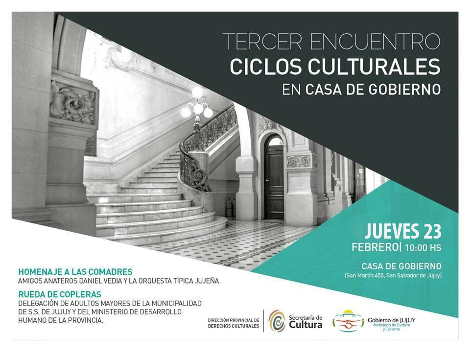 HOMENAJE A LAS COMADRES_Ciclos culturales en casa de gobierno 2017