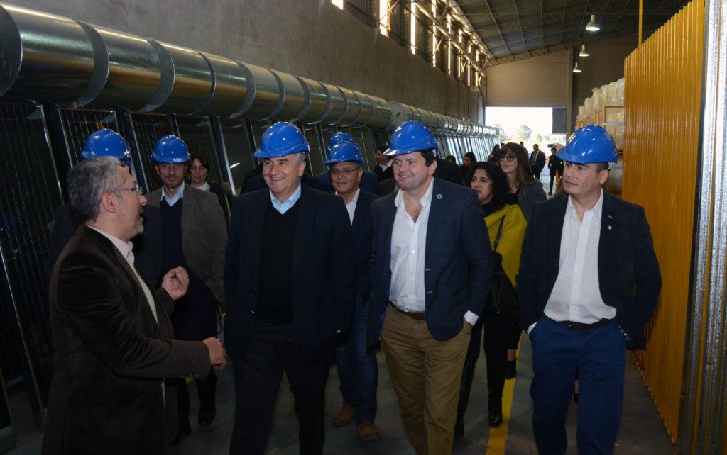 Morales, junto a autoriades nacionales y provinciales recorrió JujuySolar